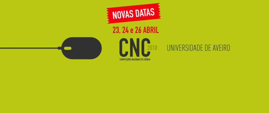 Novas Datas CNC 2018 – 23, 24 e 26 de abril