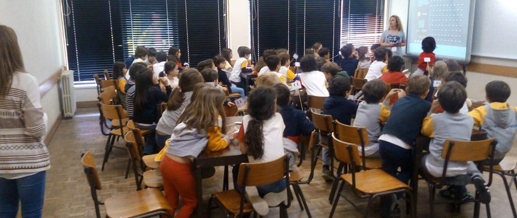 Alunos do Colégio D. Diogo de Sousa visitam a Universidade de Aveiro