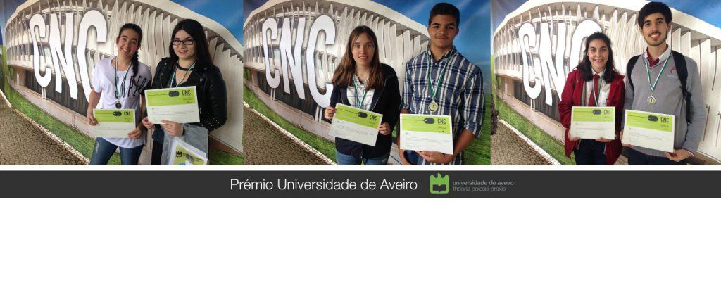 Competições Nacionais de Ciência 2021 – Prémio Universidade de Aveiro