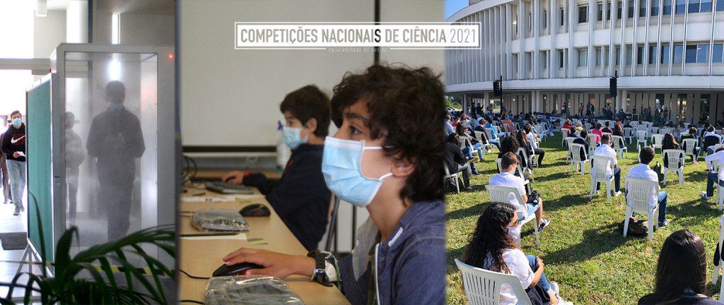 Grande Final das Competições Nacionais de Ciência 2021 juntou na Universidade de Aveiro 167 alunos de 44 escolas